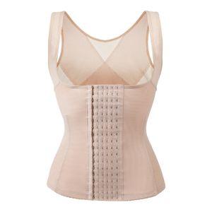 Taillentrainer für Frauen Abnehmen Latex Shapewear Korsett Cincher Schlankheitswaist Trimmer Body Shaper Gürtel Farbe Hautfarbe L