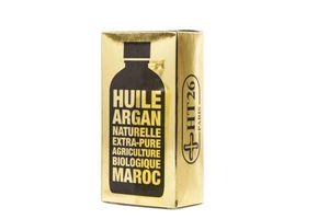 HT 26 Reines Bio-Arganöl Gold aus Marokko für Haut und Haar