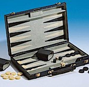 Piatnik 634581 Backgammonkoffer klein