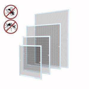 Fliegengitter Insektenschutz Fenster Alu Mückenschutz Fliegenschutz 130x150 cm