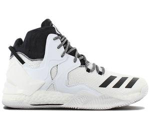 adidas D Rose 7 B54137 Herren Basketballschuhe Weiß , Größe: EU 50 UK 14