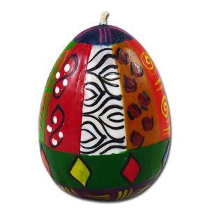 Kapula Eikerze 'Multicoloured Ethnic', 6 x 9 cm