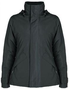 Damen Europa Jacket, Außenseite: 100% Polyester, Wasserdicht - Farbe: Dark Lead 46 - Größe: XL