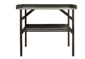 Holz-Pflanzentisch in schwarz von holz4home®