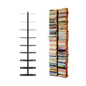 Radius Booksbaum schwarz Wandregal gross 1