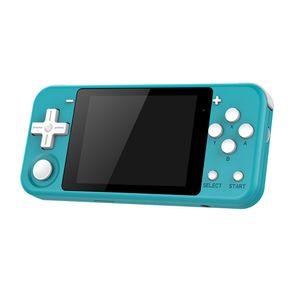 Q90 Retro Videospielkonsole Handheld Game Player 3,0-Zoll-Bildschirm Wiederaufladbar mit 16 GB TF-Karte (Blau)