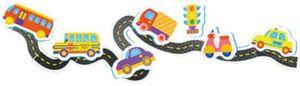Nuby badespielzeug Verkehrs-Set Junior-Schaumstoff 8-teilig