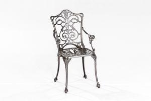 Merxx Lugano Sessel, graphit +  - Farbe: weiß - Maße: 55 cm x 50 cm x 89 cm; 21110-217