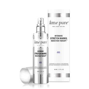 âme pure® Intensive Stretch Marks Induction Therapy Gel für die Mikronadelroller-Behandlung zur Entfernung von Narben (80 ml)