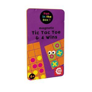 GAMEFACTORY - Magnetic TicTacToe & 4 Wins (mult)