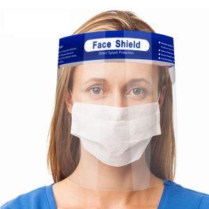 VOCYCASEDE 12Pcs Gesichtsschutz Transparenter Gesichtsschutz, Wasser Staub Nebel Visier Prävention, Entfernen Sie die Schutzfolie, bevor Sie sie verwenden