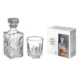 Bormioli Rocco Whisky Set, klar, 7-teilig (1 Set)