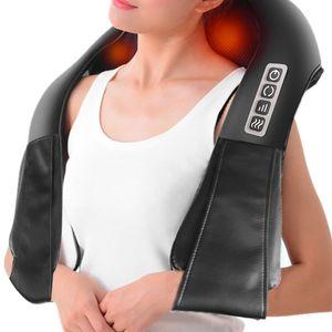 Schultermassagegerät Elektrisch Nackenmassage Shiatsu Massagegerät mit Wärmefunktion Massage Rücken