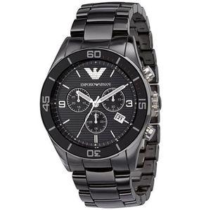 Emporio Armani Herren Armband CERAMICA Uhr AR1421