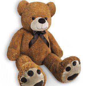 XL-XXL Teddy Teddybär | 100-175cm | Valentinstag Geschenk | Plüschbär Kuscheltier Stofftier Plüschtier Farbe Braun, Größe:XL - 150cm