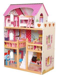 Bayer Chic 2000 Puppenhaus MIA mit Möbeln