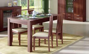 Esstisch Küchentisch nussbaum imperial 140-180x85cm ausziehbar