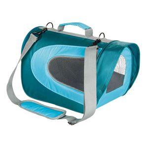 Trixie Tragetasche Alina Transportbox Hundebox Katze 22×23×35 cm hellblau