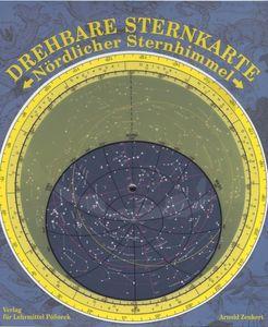 Drehbare Sternkarte mit Planetenzeiger: Nördlicher Sternhimmel,  Sternkarte für Schule