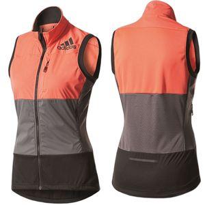 adidas Damen XPR Weste Women Gr.32 easy coral-grey-black (BP8976)