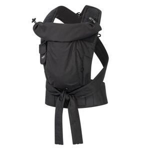 Hoppediz® Bondolino Plus Popeline Design: schwarz, Größe: One Size mit Aufbewahrungsbeutel und bebilderte Bindeanleitung