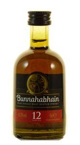 Bunnahabhain 12 Years Miniatur 46,3% 0,05L