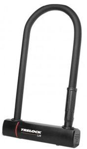 Bügelschloss Trelock mit Halter ZB 401 U4, schwarz, 102-230mm, Ø14mm