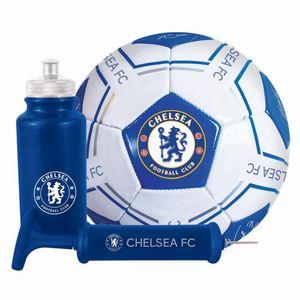 Chelsea FC Unterschriften Fußball Geschenk-Set TA5308 (Einheitsgröße) (Blau)