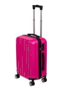 Birendy HT003 Marken Hartschalen Koffer Set Reisekoffer Trolley Handgepäck 55cm, Farbe:Pink, Größe:L - Handgepäck 55x35cm