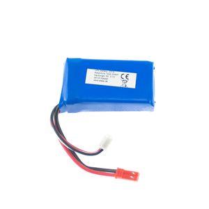 EFASO Akku Batterie 7,4V 700 mAh Li-Po mit JST Stecker passend für Feilun FT007