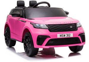 Kinderfahrzeug Range Rover rosa