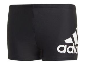 adidas Performance  Kinder Badehose Badge of Sport Boxer-Badehose schwarz weiss, Größe:164