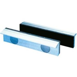 Magnet-Schraubstockbacken 150 mm Aluminium mit Gum