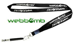 WEBBOMB® Hochfrequenzpfeife Ultraschall Hundepfeife Ultraschallpfeife für Hunde-Training Inkl. Umhänge-Band Individuell einstellbare Frequenzen