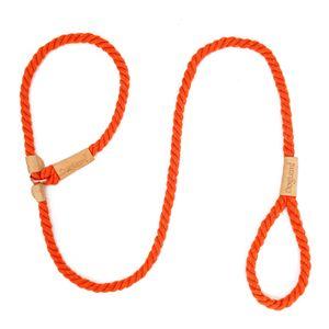 Hundeleine Slip Rope Geflochtenes Seil 1,7 m Heavy Duty No Pull Trainingsleine für kleine mittelgroße Hunde