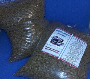 Fischfutter Grower 4 kg Wachstum Pelletgröße 3 mm Wachstumsfutter(1 kg = 4.75 €)