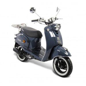 GMX 460 Retro Classic NF Edition Motorroller 45 km/h blau