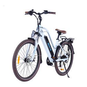 BEZIOR M2 26 Zoll E-Bike Elektrofahrrad Fahrrad Electric Bike Elektrofahrrad Citybike Elektrofahrrad mit LED Leucht Scheinwerfer 25km/h 250W 48V 12,5Ah
