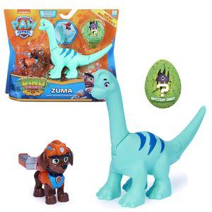 Dino Rescue Action Pack | Set mit Spielfigur und Dinosaurier | Paw Patrol, Figur:Zuma