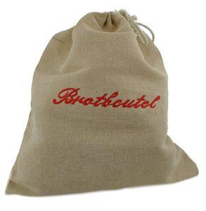 Davartis - Brotbeutel aus 100% Leinen - bakterienhemmend, schmutzabweisend