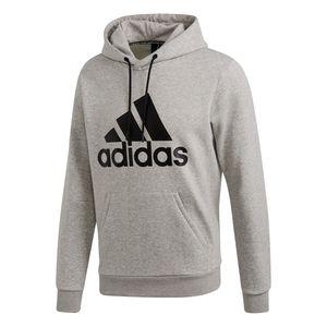 adidas Herren Freizeit Kapuzen Sweatshirt Must Haves Badge of Sport Hoodie grau, Größe:XL