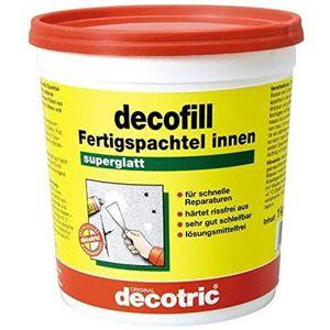 Decotric Decofill Fertigspachtel innen für Wand und Decke 1000g