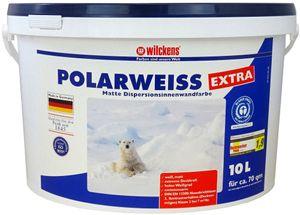 Wilckens Polarweiß Extra, 10 L, Innenfarbe, Dispersionsfarbe Weiß