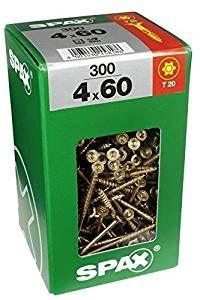 Spax TRX Senkkopf Wirox 4x60 XXL