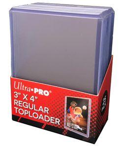 Ultra Pro - Toploader - 3' x 4' Clear Regular (25 pieces) (63,5mm - 88,9mm)