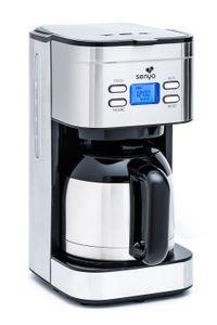 Senya Kaffeemaschine Programmierbar Thermoskanne Hot Coffee Edelstahl