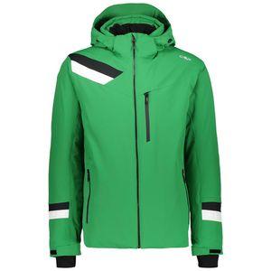 Campagnolo Man Jacket Zip Hood - evergreen, Größe:52