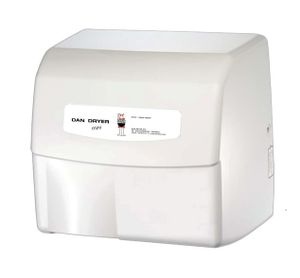 Dan Dryer Mini Händetrockner aus Aluminium-Druckguss mit 1800W und mit IR Sensor