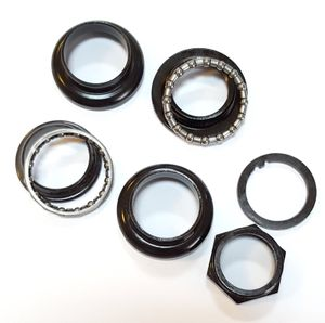 M-Wave Eco Steel Headset Schwarz 1 Zoll (22,4 / 30,0 / 27,0 mm)