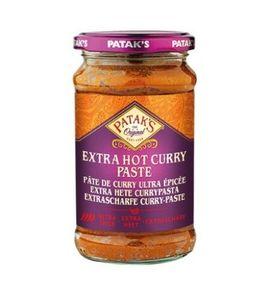 283g Patak's EXTRA SCHARFE Indische Currypaste Extra Hot Curry Paste scharf